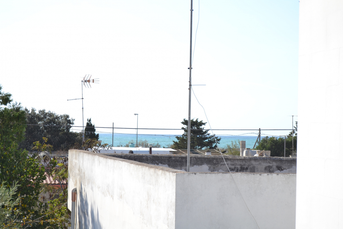 vista mare dalla terrazzina